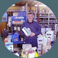 Egebjerg Smedie butik i Stenstrup landbrugsmaskiner og reservedele