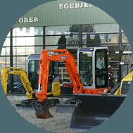 entreprenør maskiner fra New Holland